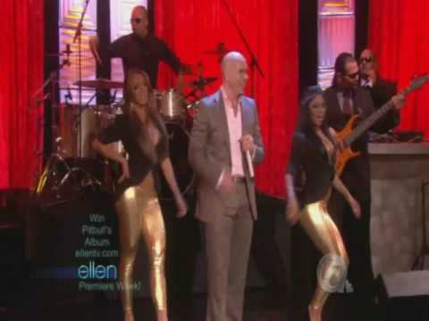 Pitbull at Ellen DeGeneres Show