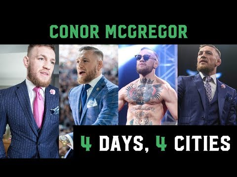 Conor McGregor: 4 Days, 4 Cities (unseen footage)