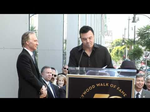 Bill Maher receives a Star on the Hollywood Walk of Fame