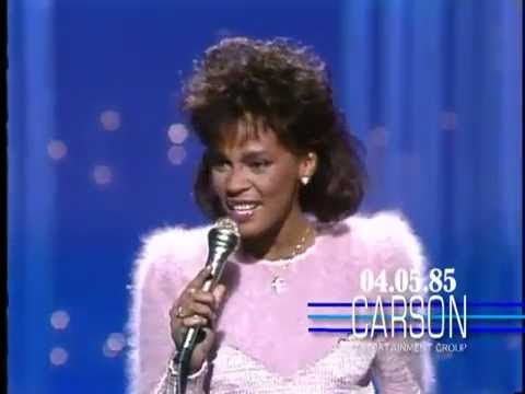 Whitney Houston sings You Give Good Love on The Tonight Show Starring Johnny Carson '85