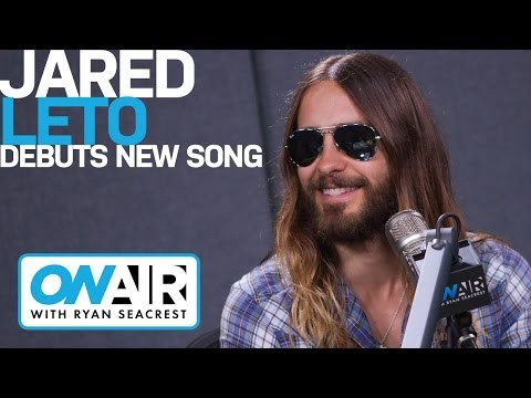Jared Leto Debuts Afrojack Track | Interview | On Air with Ryan Seacrest