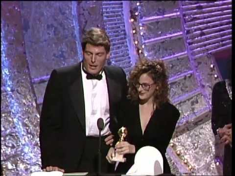 Robin Williams Wins Best Actor Motion Picture Musical or Comedy - Golden Globes 1988