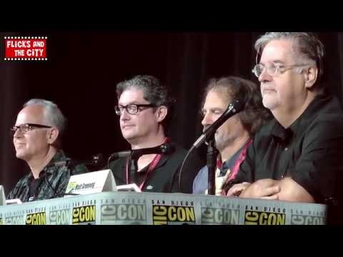 The Simpsons Season 26 & Family Guy Crossover Comic Con Panel