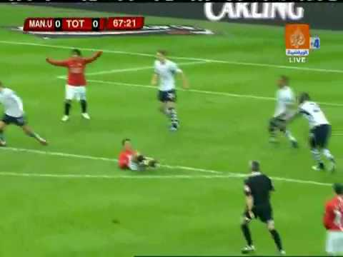 Manchester united v Spurs Carling Cup Final 2009