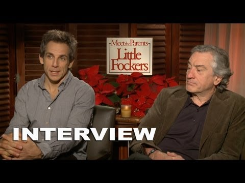 Meet The Parents: Little Fockers: Robert De Niro & Ben Stiller Exclusive Interview