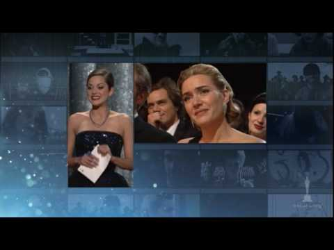 "Kate Winslet winning Best Actress for ""The Reader"""