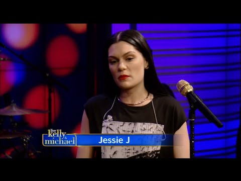 "Jessie J Live with Kelly & Michael Performance ""Burnin' Up"" - Oct. 13, 2014"