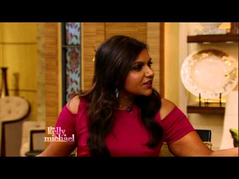 Is Mindy Kaling Flirting with Michael Strahan?
