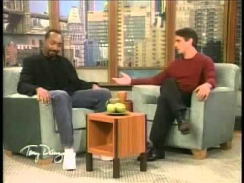 Jesse L. Martin is interviewed on the Tony Danza Show (part 1)