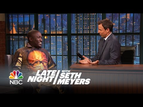 Hannibal Buress Interview - Late Night with Seth Meyers