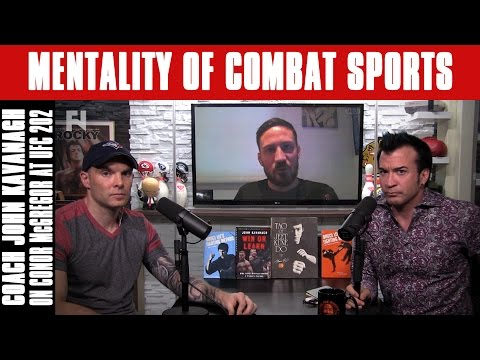 Coach John Kavanagh on Conor McGregor at UFC 202 | Mentality of Combat Sports