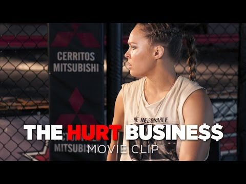 The Hurt Business Movie CLIP | Ronda Rousey Defends MMA's Place In Civilized Society