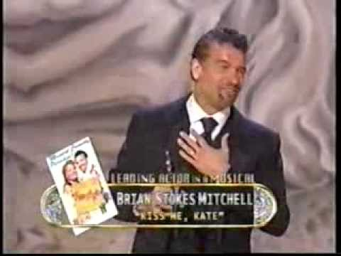 Brian Stokes Mitchell wins 2000 Tony Award for Best Actor in a Musical