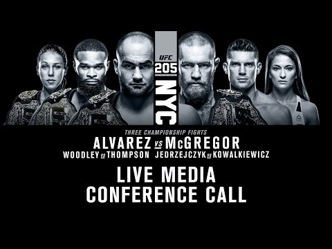 UFC 205: McGregor and Alvarez Talk