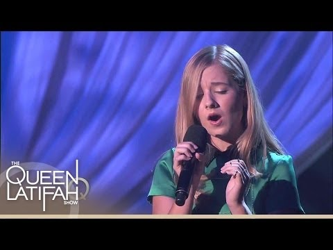 "Jackie Evancho Performs ""Your Love"" 