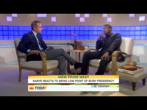 Kanye West Today Show Interview Matt Lauer George Bush Video FULL!