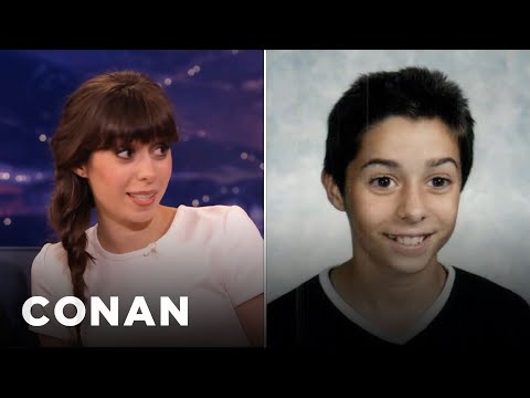 Cristin Milioti's Middle School Buzz Cut - CONAN on TBS