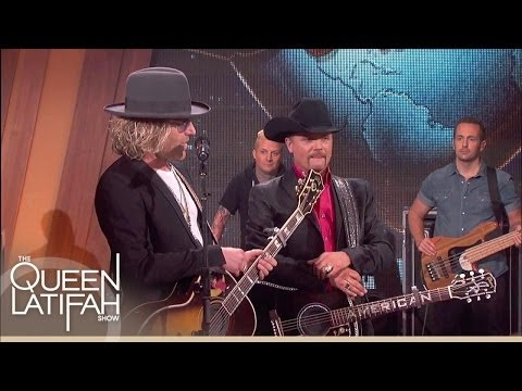 Country Stars Big & Rich Perform! | The Queen Latifah Show