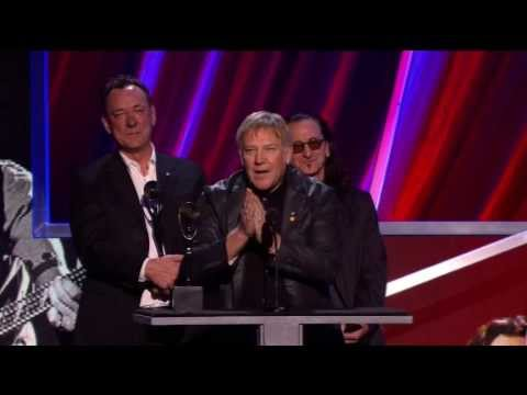 Rush acceptance speech at the Rock & Roll Hall of Fame 2013