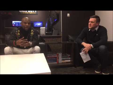 """MAYWEATHER ADMITS MCGREGOR IS """"BEST BUSINESS MOVE"""" TO FIGHT; INSISTS HE'S STEALING HIS BLUEPRINT"""
