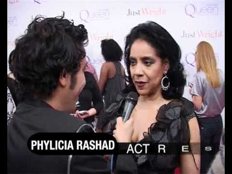Phylicia Rashad @ Just Wright Premiere in N.Y- Interview with Simo Benbachir