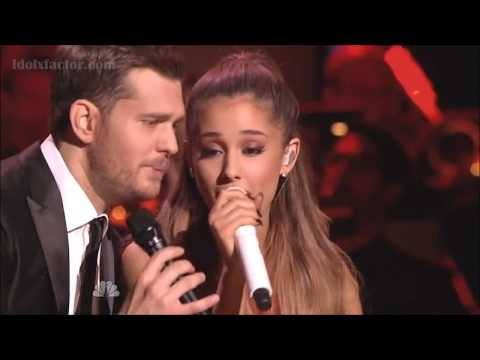 """Michael Buble & Ariana Grande """"Santa Claus Is Coming To Town"""""""