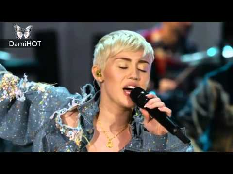 Miley Cyrus Wrecking Ball MTV Unplugged Performance FULL 1