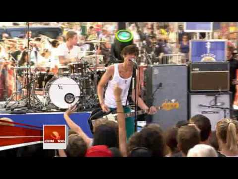 The All-American Rejects - Swing Swing (Today Show Performance)