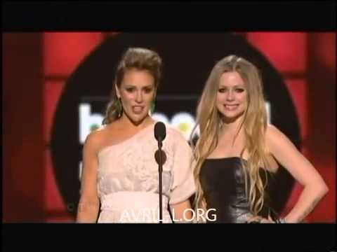 Avril Lavigne and Alyssa Milano - Billboard Music Awards 2013