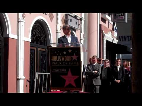 John Wells receives a star on Hollywood Walk of Fame
