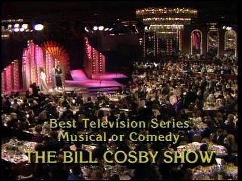 Cosby Show Wins Best TV Series Musical or Comedy - Golden Globes 1985