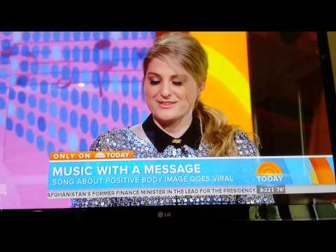 Meghan Trainor All About that Bass the Today Show