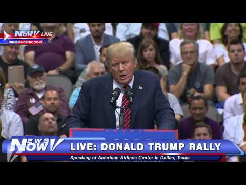 FNN: Donald Trump Dallas Rally