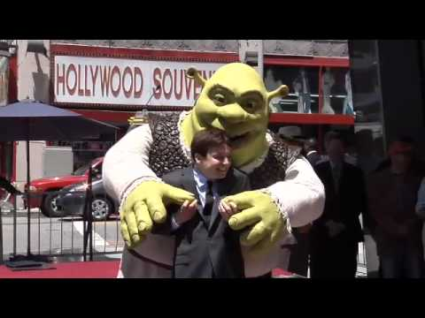 Shrek Hollywood Walk of Fame Star Ceremony