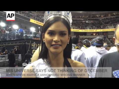Miss Universe Not Thinking Of Steve Harvey's Mistake With Wrong Winner