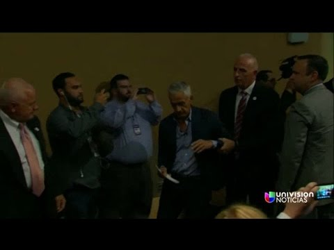 The moment Jorge Ramos is removed from Trump's press conference
