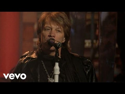 Bon Jovi - When We Were Beautiful (Live On Letterman)