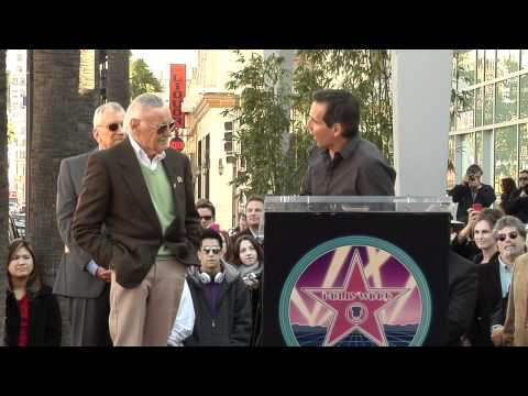Stan Lee Honored with Hollywood Walk of Fame Star