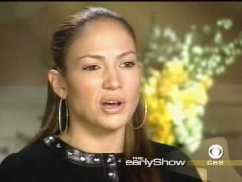 """Jennifer Lopez """"Gigli"""" Interview - The Early Show (2003)"""