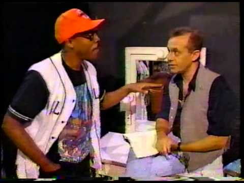 Elton John and Bernie Taupin- The Arsenio Hall Show, 1992. Opening Skit