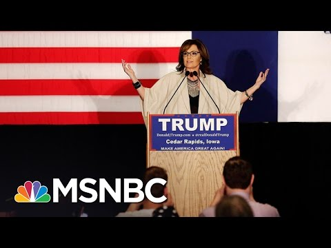 Sarah Palin Accuses Steve King Of 'Huffing Ethanol' | Morning Joe | MSNBC