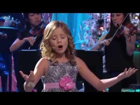 ᴴᴰ Jackie Evancho - O Holy Night (The Tonight Show with Jay Leno)