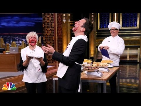 Face-Stuffing Contest with Glenn Close