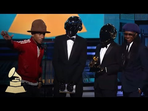 Daft Punk Win Best Pop Duo Group Performance for Get Lucky