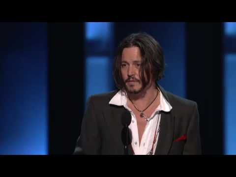 Johnny Depp at People's Choice Awards 2010
