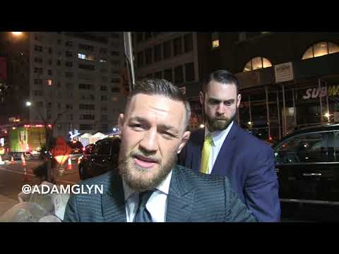 Connor McGregor talks about Floyd Mayweather in UFC, his future, Ronda Rousey on 1/31/18