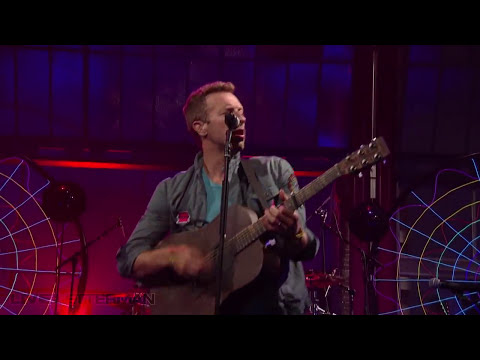 Coldplay - Mylo Xyloto/Hurts Like Heaven (Live on Letterman)
