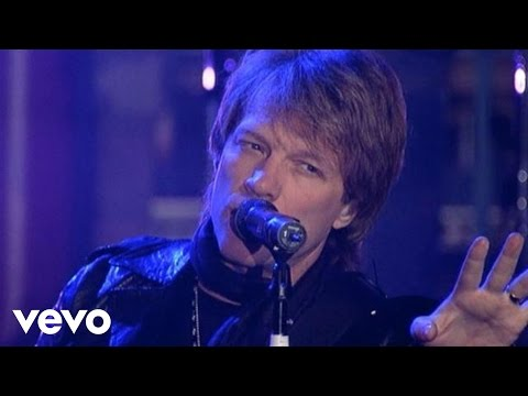 Bon Jovi - What Do You Got? (Live on Letterman)