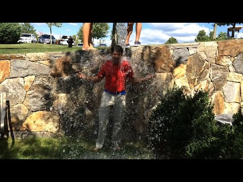 Donald Trump Jr. and Eric Trump ALS Ice Bucket Challenge