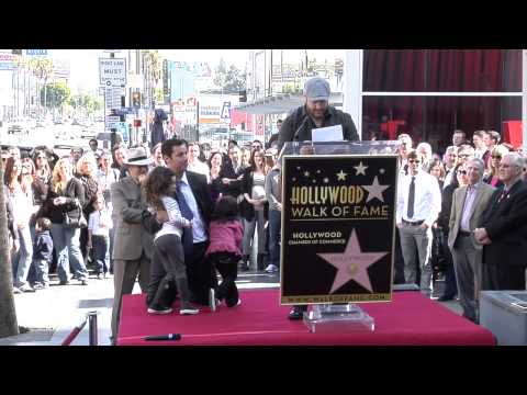 Adam Sandler Star on the Hollywood Walk of Fame Ceremony